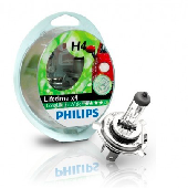 Ламп.PHILIPS H4 12v60/55w. Long Life ECO 12342